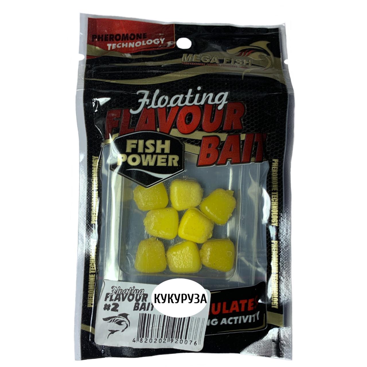 Приманки-наживки для рыбы MEGA FISH КУКУРУЗА №2 силиконовые, ароматизированные