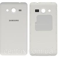Задняя крышка для Samsung G355H Galaxy Core 2 Duos, белая