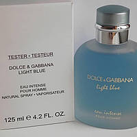 Парфюмированная вода D&G Light Blue Eau Intense Pour Homme Тестер LUX  (копия) мужской