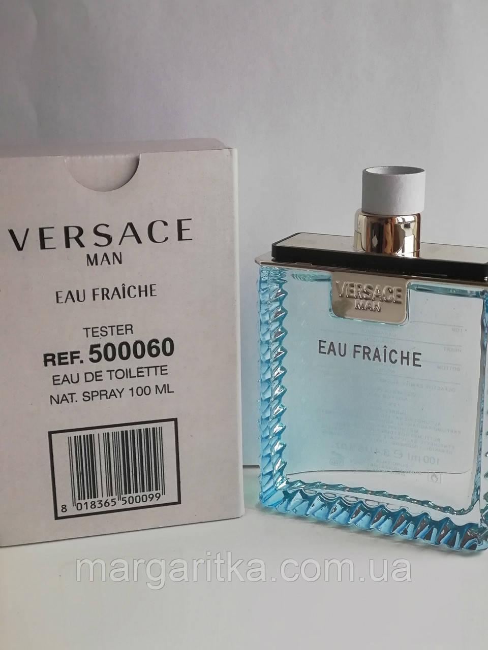 Парфюмированная вода Versace Man Eau Fraiche Тестер LUX мужской (копия)