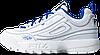 Женские кроссовки Fila Holypop Disruptor 2 White (фила дисраптор 2, белые) - Фото