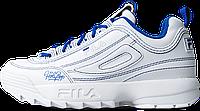 Женские кроссовки Fila Holypop Disruptor 2 White (фила дисраптор 2, белые)