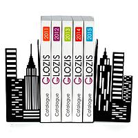 Упоры для книг Glozis City G-026 30 х 20 см, КОД: 147588