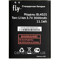 Аккумуляторная батарея (АКБ) для Fly BL4025 (Fly IQ4411 Quad Energie 2), 3000mAh