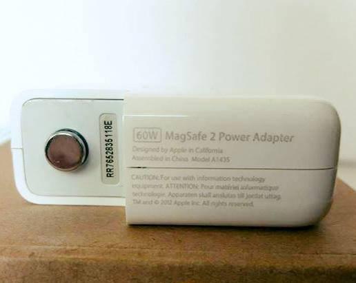 Блок живлення Зарядка для ноутбука APPLE Macbook MagSafe 2, фото 3