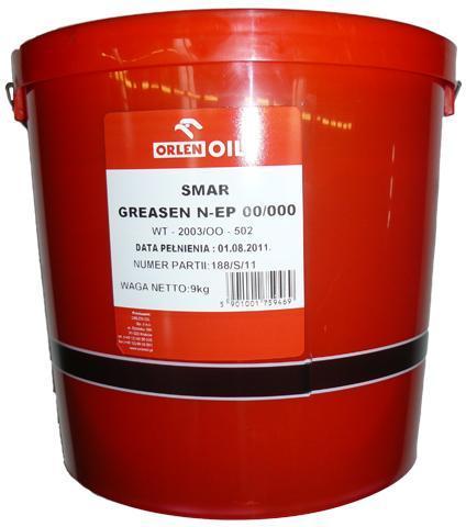 ORLEN Greasen N-EP 00/000 9 кг