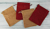 Мешок из мешковины для подарков 6-253