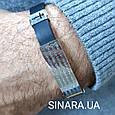 Мужской серебряный браслет с каучуком Отче Наш - Браслет с молитвой серебро 875 - Стильный мужской браслет, фото 4