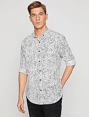 Рубашка Koton XL Белая 8YAM69733OW, КОД: 271612