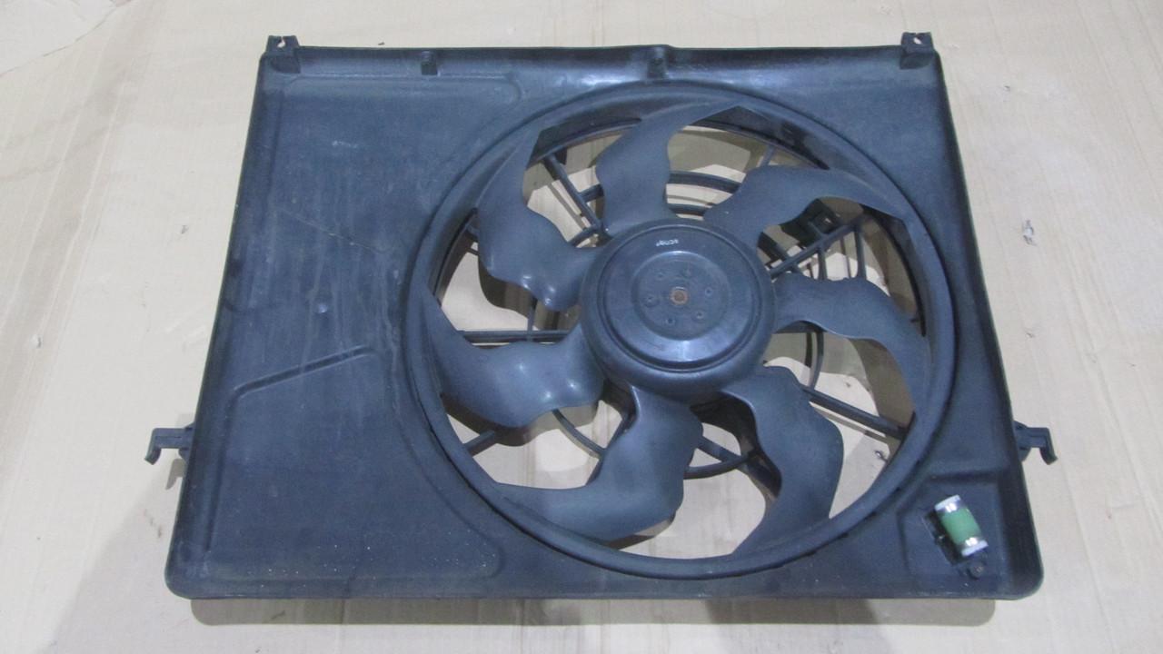 Дуффузор основного радиатора в сборе Kia Magentis 253802G000