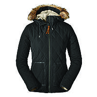 Куртка Eddie Bauer Womens Snowfurry Jacket Black Черная (0311BK-S)