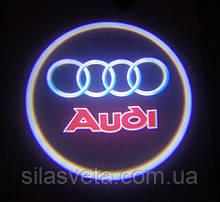 Лазерный проектор логотипа автомобиля AUDI
