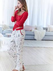 Victoria's Secret Пижама The Dreamer Henley Pajama, XS