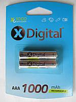 Аккумуляторы X-Digital AAA 1000mAh