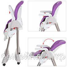 Детский стульчик для кормления Bambi M 3618, фото 3