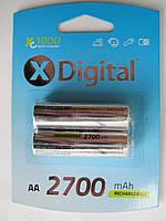 Аккумулятор X-Digital AA 2700mAh