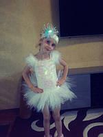 Карнавальный костюм Снежинка для девочки - Pr - 2151