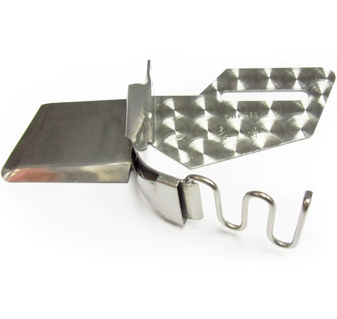 Khsew KHF12, окантователь в 2 сложения, для швейных машин с нижним, двойным и продвижением материала