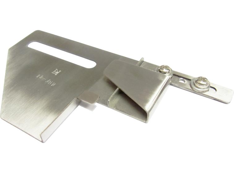 Khsew KHF22, приспособление для подшива низа футболки в одно сложение с подворотом вниз, для распошивальных машин