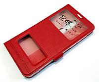 Чохол книжка з віконцями momax для Meizu V8 Pro червоний