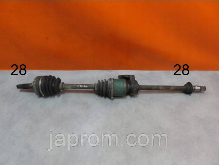Полуось \ привод передний правый Mazda 626 GE GF