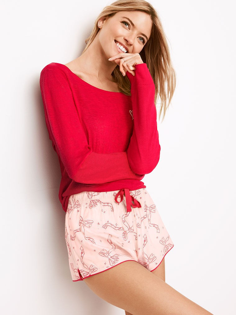 Victoria`s Secret Пижама с Шортами The Lounge PJ Set S