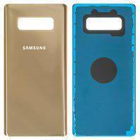 Задняя крышка для Samsung N950F Galaxy Note 8, золотистая, Maple Gold, оригинал