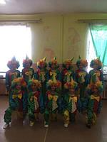 Клоун новогодний карнавальный костюм - BL - ДС41