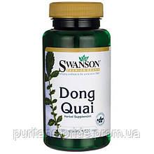 Регулятор громонального фону у жінок - Донг Куэй / Dong Quai (Дягель лікарський), 530 мг 100 капсул