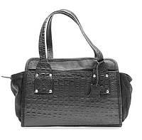 Женская сумка из высококачественной натуральной кожи Lloyd oryginal серая (Германия) L321.16