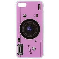 "TPU чехол Photo Popsocket для Apple iPhone 7 / 8 (4.7""), фото 1"