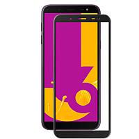Защитное цветное стекло Mocolo (full glue) на весь экран для Samsung J600F Galaxy J6 (2018)