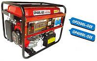 Мобильный бензогенератор GP4000L-GEE