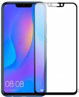 Защитное стекло для Huawei P Smart Plus/Nova 3/Nova 3i (0.3 мм, 3D, с олеофобным покрытием) цвет черный