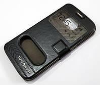 Чехол книжка с окошками momax для Samsung Galaxy S6 Edge G925 черный, фото 1