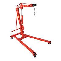 Кран гаражный гидравлический складной Miol 80-445 1 т