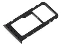 Лоток для сим карты и карты памяти для Huawei Honor 6C Pro/Honor V9 Play, черный
