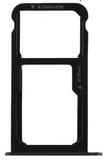 Лоток для сим карты и карты памяти для Huawei Nova Lite (2017) Y6 Pro 2017 (SLA-L02/)/P9 Lite mini, черный