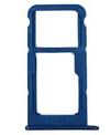Лоток для сим карты и карты памяти для Huawei P8 Lite 2017 (PRA-L11/PRA-L21), синий