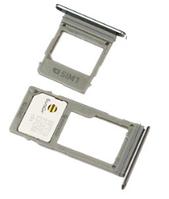 Лоток для сим карты и карты памяти для Samsung A530F Galaxy A8 Duos (2018)/A730F, золотистый, на 1 Sim-карту, комплект 2 шт