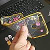 Чехол/Бампер со стразами для Xiaomi Mi A1 Золотой (Силиконовый), фото 2