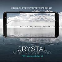 Защитная пленка Nillkin Crystal для Samsung J600F Galaxy J6 (2018), фото 1