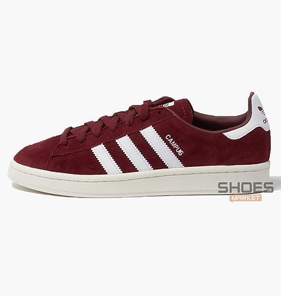35a88c35 Мужские кроссовки Adidas Campus Bordo CQ2048, оригинал купить в ...