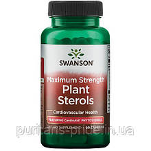Maximum Strength Plant Sterols CardioAid, Swanson, 60 капсул