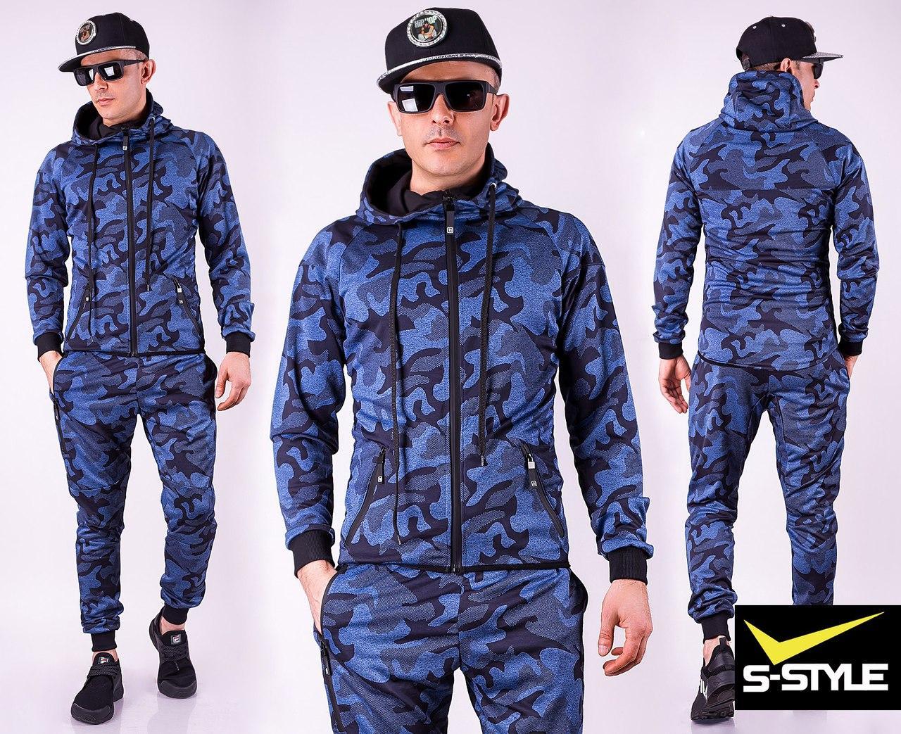 3bfa44ede14 Мужской спортивный костюм камуфляж