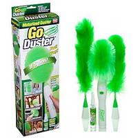 Вращающаяся щетка метелка для удаления пыли Go Duster (Гоу Дастер)