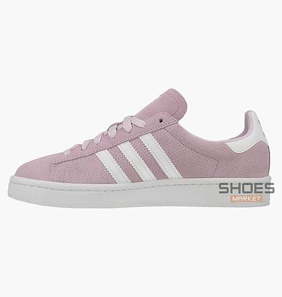 Женские кроссовки Adidas Campus Junior Pink CQ2943, оригинал, фото 2