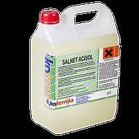 Сильнодействующее пенное кислотное моющее средство Salnet Acisol 1 л