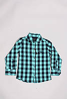 Рубашка для мальчиков в клеточку (98-122), фото 1