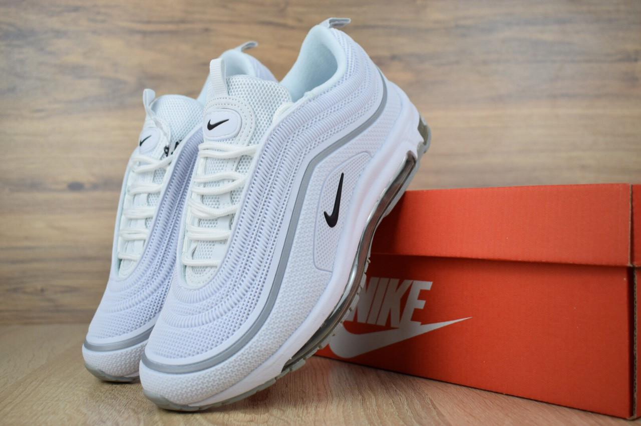 7aea2e57 Женские белые кроссовки Nike Air Max 97 реплика (2622) р.36,37, цена ...